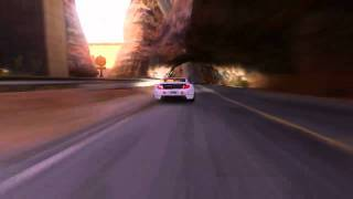 TrackMania 2 Canyon: Driving on the Ceiling - Gameplay (PC)