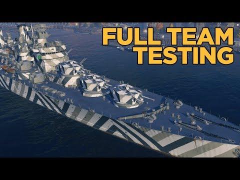 Training Room CV Rework Test- World of Warships