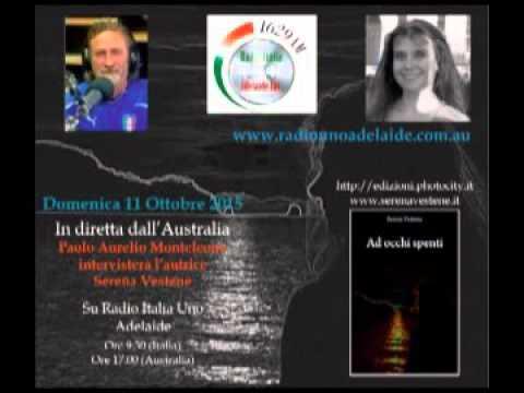 Serena Vestene - Intervista a Radio Italia Uno Adelaide Inc. - 11/10/2015