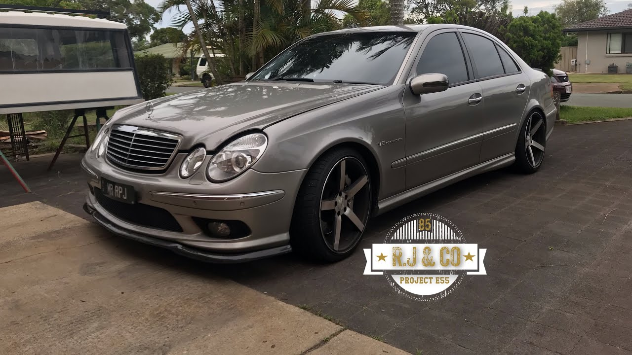 E55 Loud Supercharger Whine W211
