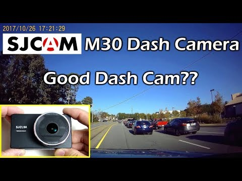 SJCAM M30 HD Car Dash Camera 3