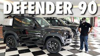 Suka panjang apa pendek?   Land Rover Defender 90
