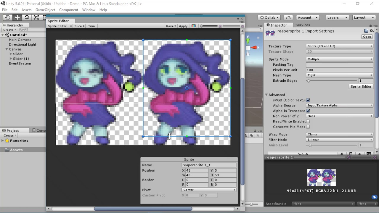 [Beginner] Unity Sprite Animations for 2D and UI