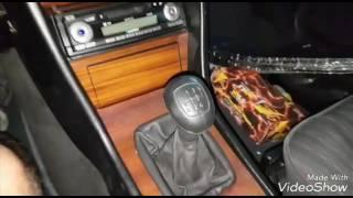 Mercedes Benz w124 e200 ремонт кулисы МКПП-5