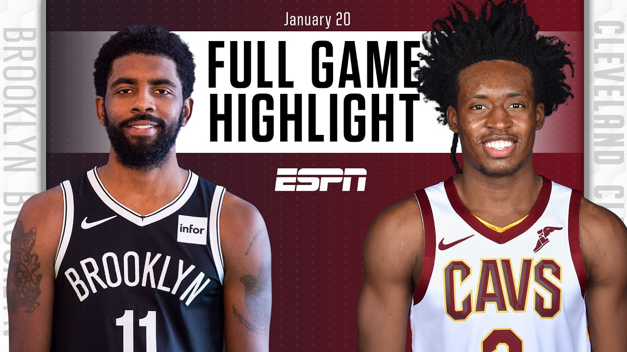 Nets vs. Cavaliers - Game Recap - January 20, 2021 - ESPN