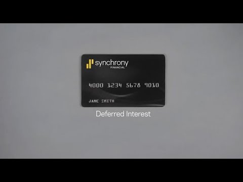 Synchrony Financial | Deferred Interest Promotions