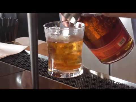 Mixing an Old-Fashioned at the World Trade Center