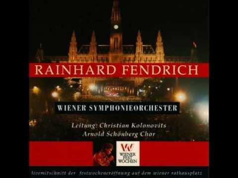 Rainhard Fendrich - Weus'd a Herz hast wie a Bergwerk LIVE (Eröffnung Wiener Festspielwochen)