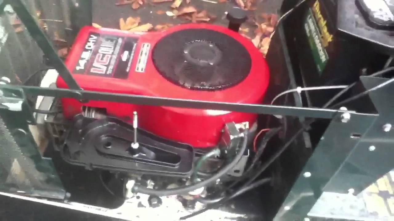 bolens st120 engine swap