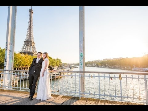 Karen & Calvin - Sao Paulo Ceremony / Paris Honeymoon - International Luxury Wedding Film
