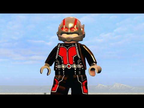 ЧЕЛОВЕК-МУРАВЕЙ в LEGO Marvels Avengers (DLC)