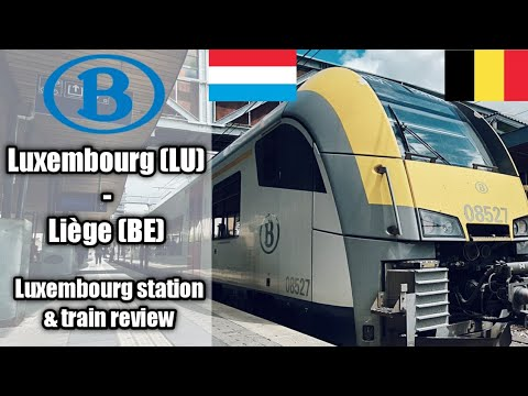 From Luxembourg city in the country of Luxembourg to Liège in Belgium through the Ardennes