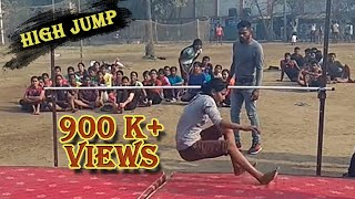 High jump by boys and girls for bihar police constable under the guidance of ashish Gupta(7870180478