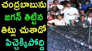జగన్ తిట్టిన తిట్లు చుశాడో పిచ్చెక్కిపోద్ది | YS Jagan Speech at Parvathipuram | Cinema Politics