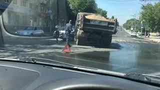 Массовая авария с машиной Росгвардии в Саратове