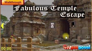 Fabulous Temple Escape walkthrough - GamesNovel