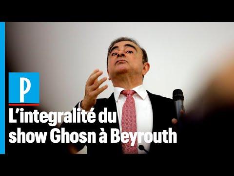 Le «show» de Carlos Ghosn à Beyrouth