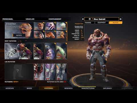 Phoenix Point Backer Build 5 - All Tech And Mutations