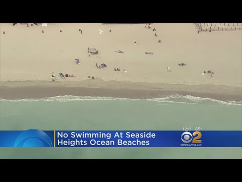 No Swimming At Seaside Heights Ocean Beaches
