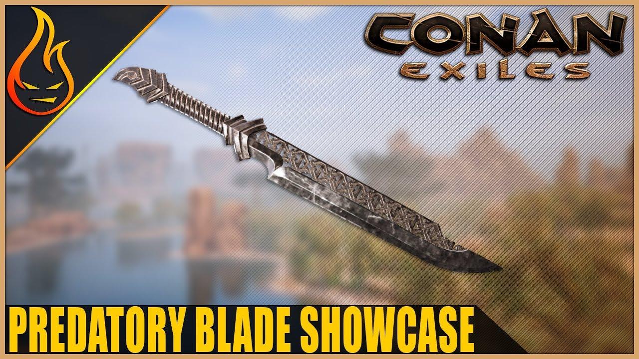 Conan Exiles Predatory Blade Legendary Weapon Spotlight