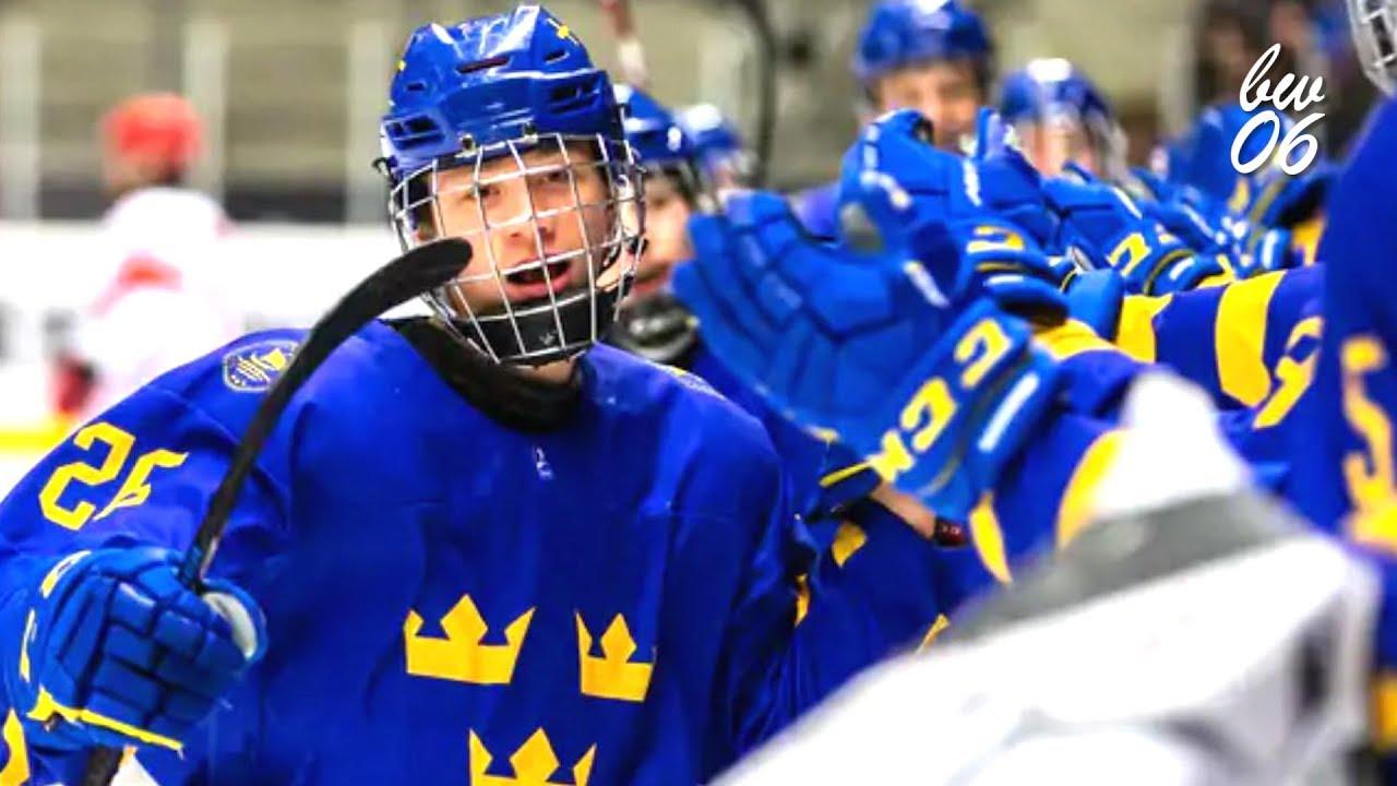 Lucas Raymond 2018 Hlinka Gretzky 2019 U18 Highlights Youtube