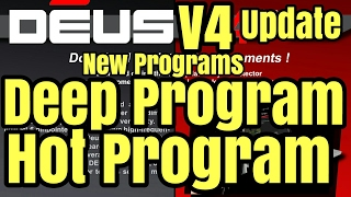 XP Deus V4 Hot Program and Deep Program