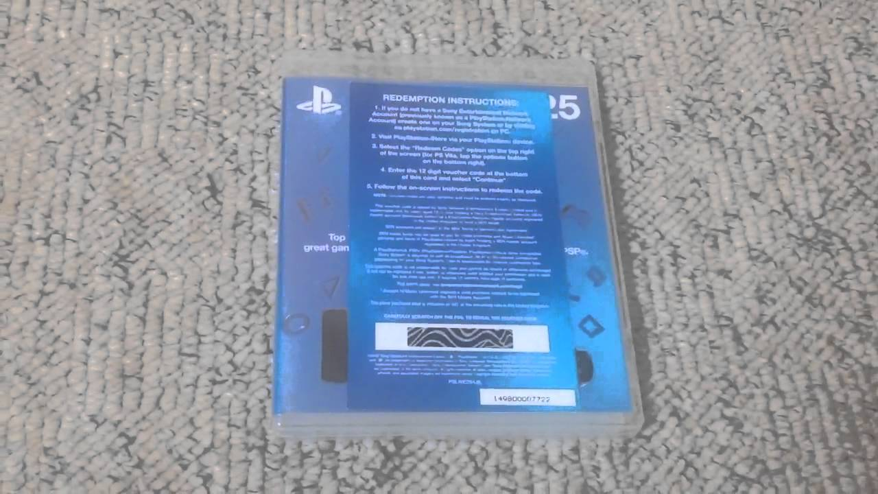 playstation network card 25 giveaway youtube. Black Bedroom Furniture Sets. Home Design Ideas