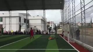 ركلة الترجيح الاخيرة في مباراة محمد زاهد كودكو ومدرسة الصبانجي