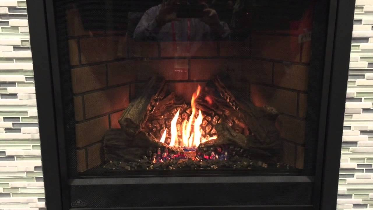 Napoleon Ascent GX36 Direct Vent Fireplace - YouTube