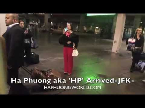 Ha Phuong Arrived at JFK International Airport  - FabbyLifestyle