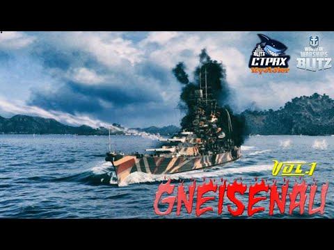 WOWS BLITZ Флот СТРАХ: Gneisenau VII