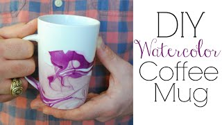 Easy DIY Gifts - Watercolor Coffee Mugs(Buy a DIY kit: https://takeandmake.co/projects/380-watercolor-coffee-mugs In this step by step DIY video I will show you how to easily make your own DIY ..., 2014-10-10T03:50:41.000Z)