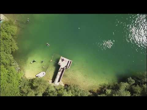 Divers Cove Drone test Footage By Steve Evans