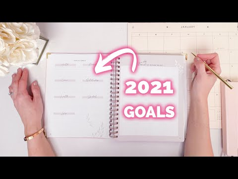 Plan Your Best Year Ever! My 7 Step Goal Setting Process