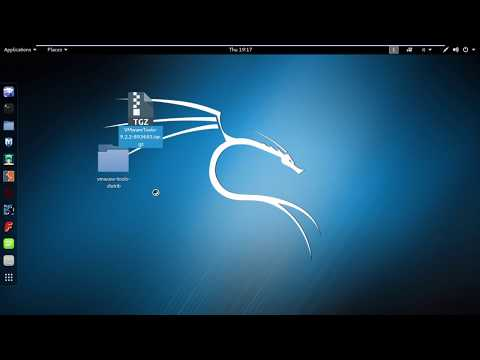 how to install kali linux in vmware vmware tools