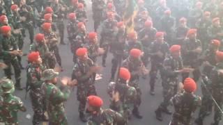 Keren!!! Kumpulan yel yel komando baret merah