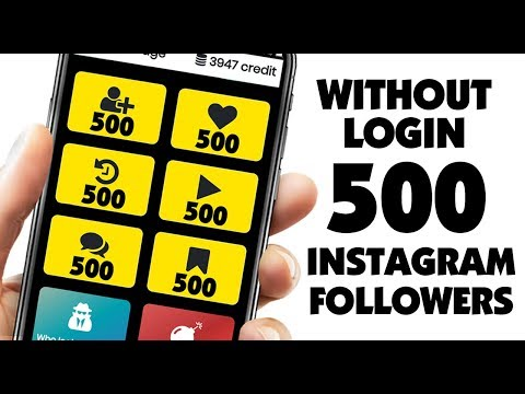 Get 500 Free Instagram Followers Every Hour 2019 - HOW TO INCREASE INSTAGRAM FOLLOWERS 2019