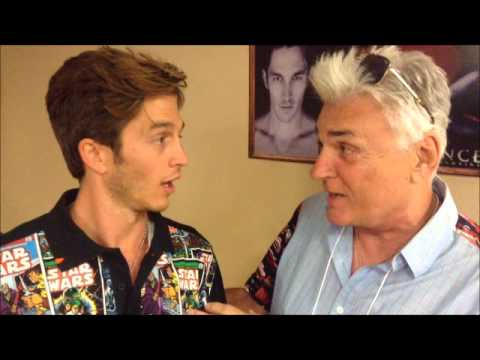 Jimmy Star and Ron Russell interviewing Actor Bobby Campo