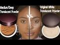New  Medium Deep Translucent Powder For Dark Skin| Laura Mercier
