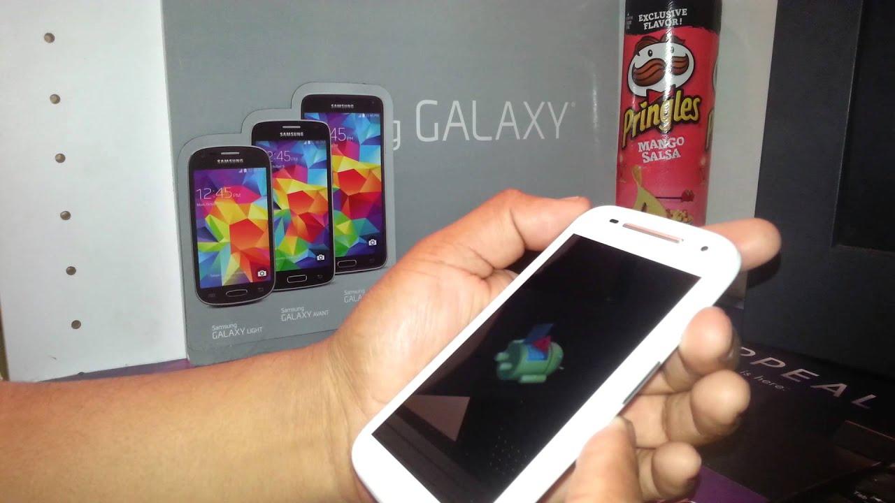 Factory Reset For Motorola Moto E Using External Keys Boost Mobile
