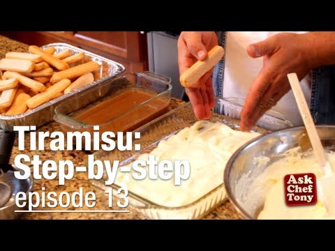Tiramisu Recipe Video, Classic, Easy, Authentic - as taught by an Italian!, How to Make it