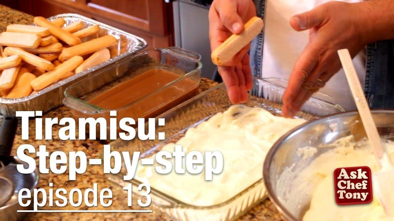 Tiramisu Recipe Video Classic Easy Authentic