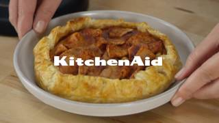 Rustic Apple Tart with the Spiralizer Attachment | KitchenAid