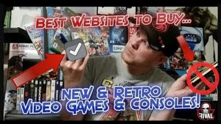 Best Websites to Buy New & Retro Video Games & Consoles! Where, When, How 2019!