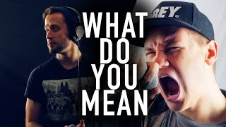 What Do You Mean - Justin Bieber // PUNK GOES POP STYLE COVER