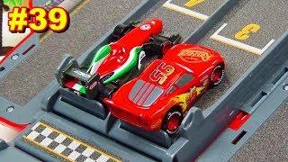 Cars 3 Toys Speedway Race Tournament Vol.39 Backward Race Tournament