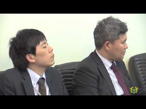 A Working Visit by the Japanese Minister for Land, Infrastructure, Transport & Tourism