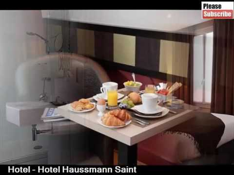 Hotel Haussmann Saint Augustin | One Of The Best Hotel In Paris And Its Pictures And Info