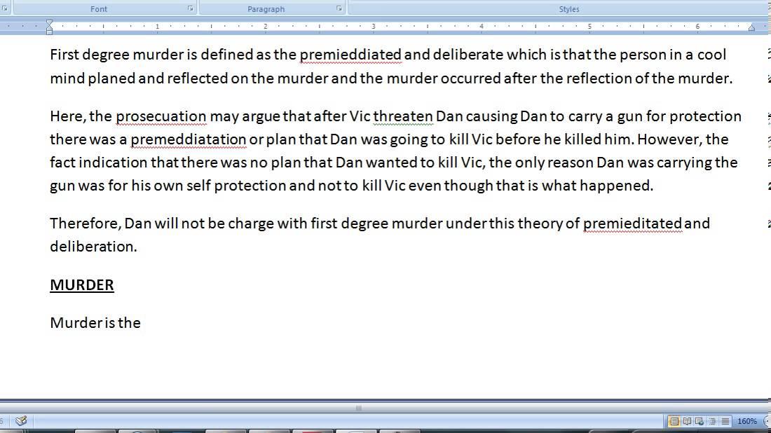Pass the CA (California) Bar Exam - How to write the February 2008 -  criminal procedure essay