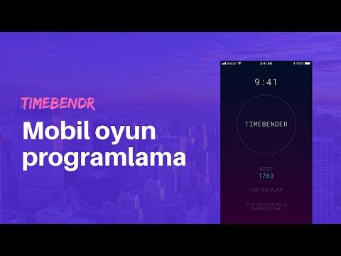 Timebendr: canlı yayında mobil oyun kodlama